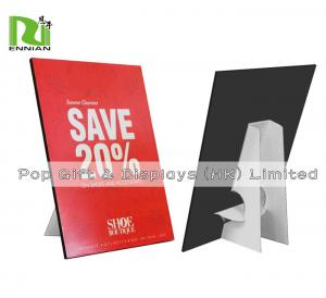 China Customized A4 Size Cardboard Standee Advertising Paper Pop Display on sale