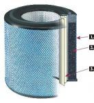 filtro de aceite de la precisión