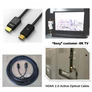 China FOXCONN FIT HDMI 2.0 Active Optical Cable CUJA05A-ZZ205-EF ,HDMI AOC, 5 Meter on sale