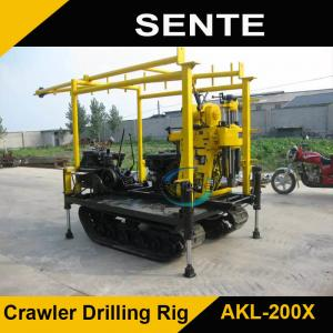 China Crawler type AKL-200Y hydraulic rotary drilling rig on sale