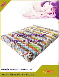 China Palm fibre bed mattress coconut coir mat  on sale