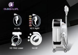 China 4h Yag Ipl E Light Hair Removal Machine White Ipl Equipment Skin Rejuvenation on sale