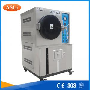 China Pressure Cooker Aging Tester PCT/ HAST Testing Chamber For Polymers Test on sale