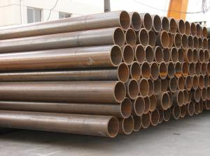"China Bare / Black Mild Steel ERW Pipes , Electric Resistance Welded ERW Line Pipe 1"" / 2"" on sale"