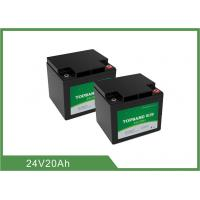 China Deep Cycle Lithium LiFePO4 Rechargeable Battery 24V 20Ah for Golf Cart / Golf Trolley on sale