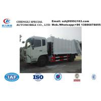 China-made Chengli factory sale good price 12m3 garbage compactor truck for sale, 10tons refuse garbage compactor truck