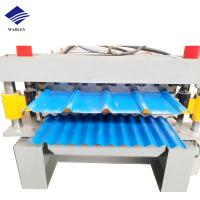 China Metal Profile Sheet Roof Panel Roll Forming Machine Production Line on sale