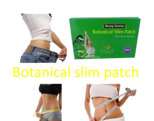 China Herbal Guarana Botanical Slimming Patches For Fat Burning new body slim wraps Strong Version MZT msv A1 on sale