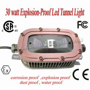 China 220 Volt CREE 30 Watt LED Explosion Proof Light 6500K 78Ra For Underground Tunnel on sale
