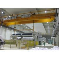 Electromagnetic Double Beam Bridge Crane With Magnet Lift Chunk  / Spreader