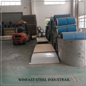 China JIS G4303 SUS444 Cold Rolled Stainless Steel Sheet  for Water Tank 2B Surface on sale