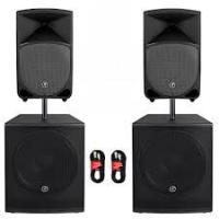 China 174-270MHz 8'' woofer high power Digital best Active PA Speakers with volume adjust on sale