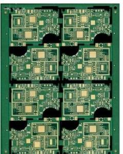 0 2mm - 3 2mm Thickness TWO sided pcb FR4 Printed Circuit