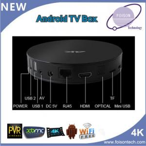 China Google Android Set Top Box with Amlogic S812 Cortex A9 on sale