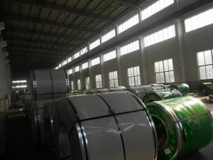 China 321 1.4541  Mirror Finish Stainless 2000mm Steel Coils SS Strip 2B NO.1 Surface on sale