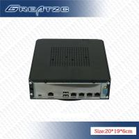 China Smart Atom Mini PC Computer With 4 LAN Ports Intel D525 CPU GMA 3150 Graphics  Card on sale