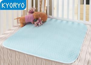 China Custom Washable Reusable Incontinence Pads , Baby / Old People Incontinent Bed Pad on sale