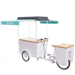 China Retro Large Storage Ice Cream Tricycle , EQT Electric Ice Cream Bike on sale
