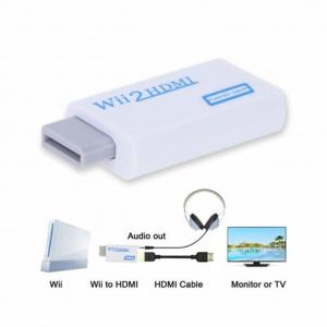 China Wii to HDMI Converter Adapter with 3,5mm Audio Jack and HDMI Output for Nintendo wii2hdmi on sale