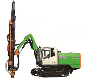 China Hammer Drill Hard Rock Drilling Equipment , ZGYX - 425 Water Borehole Drilling Rig on sale