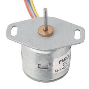 China 200 MA Current Permanent Magnet Stepper Motor For Game Machine 20mm 20L-020 on sale