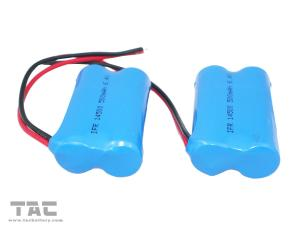 China 6.4V LiFePO4 Battery Pack 14500 500mAh For Decorative Lighting on sale