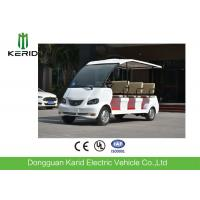 Mini Bus 8 Seater Electric Car For Sightseeing / Hotel Reception