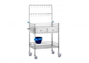 China YA-SS03 Stainless Steel Infusion Trolley supplier