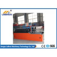 High strength smooth straight door frame cold roll forming machine automatic type PLC system control