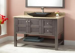 China Small Prima Vanity Lacquer Bathroom Vanity Units Traditional Design on sale