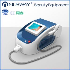 China Salon beauty equipment 808nm laser mini diode laser hair removal machine on sale