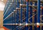 Conventional Drive In Racking , Homogeneous Products Drive Through Pallet Racking