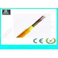 12 Core Distribution Indoor Fiber Optic Cable With Corning Fiber / LSZH Jacket