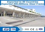 ISO9000 Pre Manufactured Building Steel Frame Buildings Moisture Proof