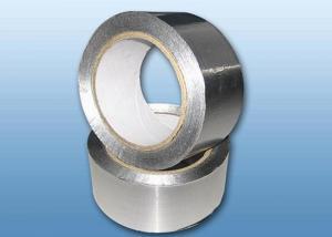 China 感圧性のアクリルの付着力のアルミ ホイルが付いているアルミ ホイルのシーリング テープ on sale