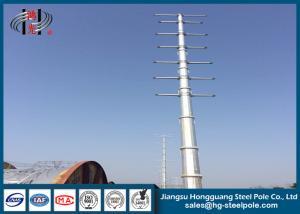 China Dodecagonal熱いすくい電流を通された鋼鉄ポーランド人の電気送電線のための鋼鉄伝達ポーランド人 on sale