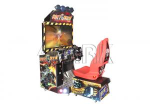 China Children Dirty Driven Car Racing Game Machine Cartoon Apperance on sale