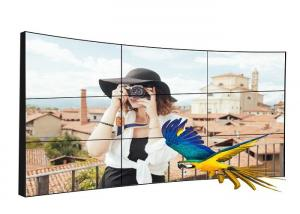 China 4K Full HD Curved LCD Video Wall 50000 Hours Operating Life With Temperature Control on sale
