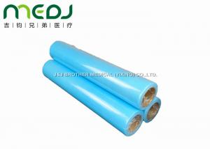 China Dark Blue Medical Exam Table Paper Rolls For Automatic Sheet Change Table on sale
