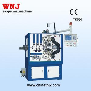 China TK-550 5軸線のばねの巻く機械 on sale