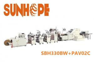 China Eco Friendly SOS Paper Bag Machine on sale