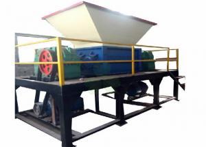 China Economical Double Shaft Shredder Machine / Coconut Husk Shredder on sale