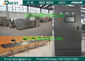 China Continuous & automatic Dog Food Extruder Machine for Dog , Cat , Animal on sale
