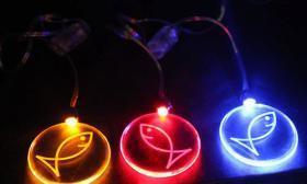 China Flashing Necklace / LED Necklace on sale