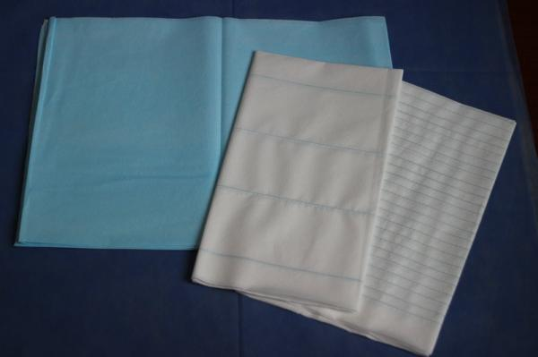 Stripped SPA Disposable Mattress Pads , Restaurant Facial Bed Sheets, With  Many Sizes Images