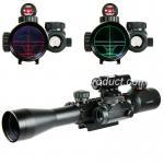3-9X40EG. Laser rouge et portée olographe de chasse de vue de point