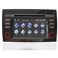 Blue Audio Fiat Bravo DVD Player With PAL / NTSC / SECAM Auto TV System
