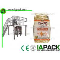 Punch Grain Packaging Machine 1500 Watt Automatically with Multihead Weigher