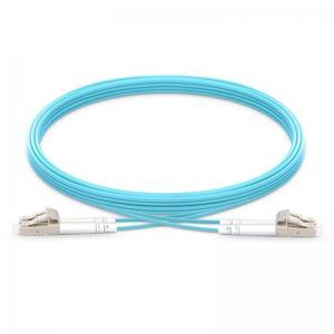1M LC to LC Duplex 2.0mm 10G OM3 Fiber Optic Patch Cable