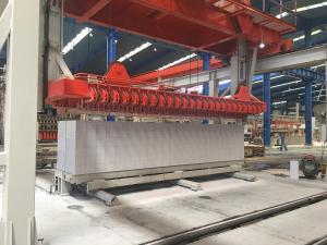 China Heavy Duty AAC Block Making Machine , Automatic Brick Block Making Machine on sale
